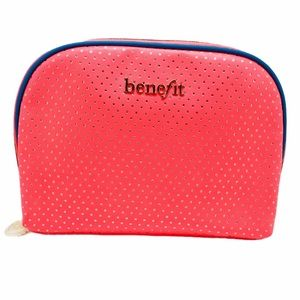 NEW Benefit Cosmetics Makeup Bag Travel Pouch